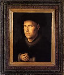 Portrait de l'orfèvre jan van eyck